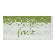 Fruitzakgebleekt kraft 45 grs2 pond 16 + 2 x 5,25 x 31,5 cm Productfoto