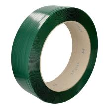 Omsnoeringsband Pet 0,64 mm groen 12 mm x 2000 mtr kern 40,6 cm gewafeld Productfoto