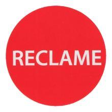 EtiketMC rond 3,5 cm reclame in dispenserdoos Productfoto