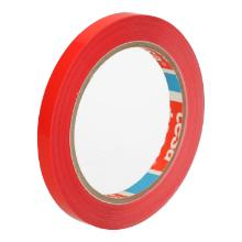Zakkensluit tape PVC rood 9 mm x 66 mtr tesa 4204 Productfoto