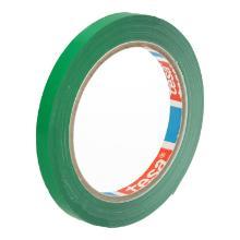 Zakkensluit tape PVC groen 9 mm x 66 mtr tesa 4204 Productfoto