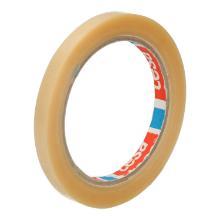 Zakkensluit tape PVC transparant 9 mm x 66 mtr tesa 4204 Productfoto