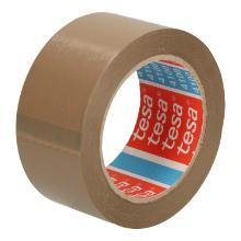 Tape pvc bruin 5 cm x 66 mtr tesa 4100 Productfoto