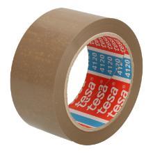 Tape PVC bruin 5 cm x 66 mtr tesa 4120 Productfoto