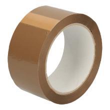 Tape PP acryl bruin 4,8 cm x 66 mtr low noise Productfoto