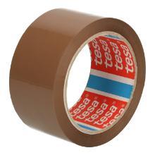 Tape PP bruin 5 cm x 66 mtr high tack tesa 4024 Productfoto