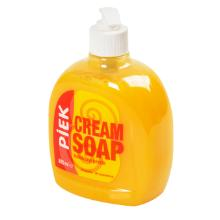 Handzeep met pomp 500 ml perzik cream soap Productfoto