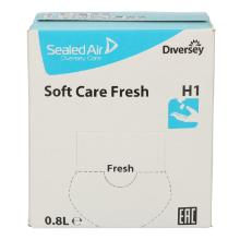 Handzeep Soft Care fresh H1 pak van 800 ml Productfoto