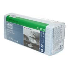 Poetsdoeken Tork premium 530 tissue blauw 42 x 38 cm #2 Productfoto