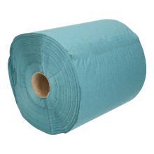 Handdoekrol tissue 1 laags blauw 20 cm x 200 mtr rol van 800 vel Productfoto