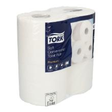 Toiletpapier Tork plus tissue 2 laags wit 200 vel #2 Productfoto