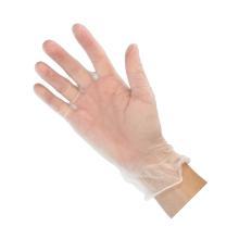 Handschoenen vinyl transparant maat S ongepoederd Productfoto