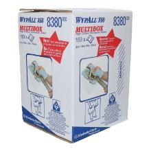 Poetsdoeken Wyp-all tissue blauw 42 x 24,5 cm in een dispenserdoos Productfoto