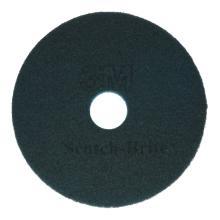 Vloerpads 3M plastic blauw 43 cm Productfoto
