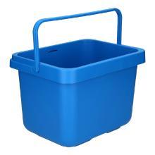 Emmer Taski plastic blauw 7 liter Productfoto
