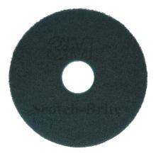 Vloerpads 3M plastic blauw 35 cm Productfoto