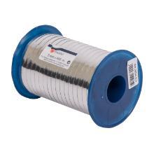 Cadeaulint pp metaal zilver 5 mm x 400 mtr Productfoto