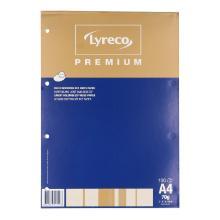 Schrijfblok papier 70 grs A4gelinieerd 100 vel Productfoto