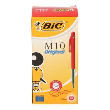Pennen BIC M10 drukknop rood Productfoto