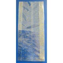 OPP Stollenbeutel 480x200x70 mm transparent -Goldsterne- 30my Produktbild