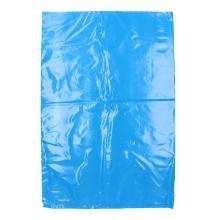 LDPE Abreißbeutel 400 mm x 600 + 30 mm blau T50 geblockt Produktbild