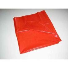 HDPE-Müllsäcke 575 mm x 1000 mm rot a. Rolle 70l T20 Produktbild