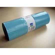 LDPE-Müllsäcke 650 mm x 550 mm x 1350 mm blau 240l Produktbild