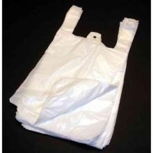 ND-Hemdchen-Tragetaschen 25 cm x 12 cm x 45 cm weiss T13 geblockt Produktbild