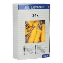 Maiskolbenhalter gelb ca. 6 cm -71175- Produktbild