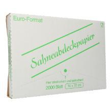 Sahneabdeckpapier 16 cm x 22 cm Produktbild