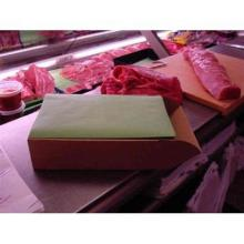 Steakpapier-Zuschnitte 19 cm x 38 cm grün Produktbild