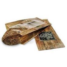 Sichtstreifenbeutel 16 cm x 8,7 cm x 32 cm - Enjoy your meal Produktbild