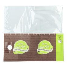 Snack Bag 215 mm x 80 mm x 225 mm grün/braun Produktbild