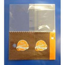 Snack Bag 280 mm x 75 mm x 230 mm orange/braun Produktbild