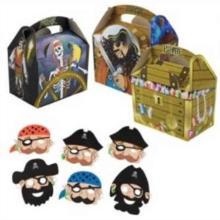 Lunchbox Piraten 15,2 cm x 10 cm x 10,2 cm Produktbild