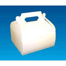 Lunchbox 18 cm x 10 cm x 9 cm mit Griff weiß GC2 mit Frontverschluss Produktbild