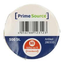 Label Mittwoch u.haltbar bis 1 Rolle = 500 Etiketten PrimeSource Produktbild