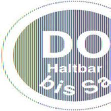 LabelLord Aqualabel Donnerstag u.haltbar bis 1 Rolle = 500 Etiketten Produktbild