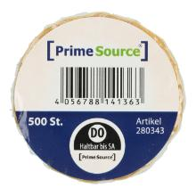 Label Donnerstag u. haltbar bis 1 Rolle = 500 Etiketten PrimeSource Produktbild