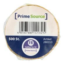 Label Freitag u.haltbar bis 1 Rolle = 500 Etiketten PrimeSource Produktbild