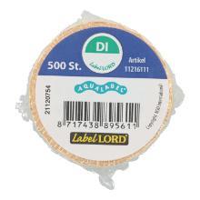 LabelLord Aqualabel Dienstag 1 Rolle = 500 Etiketten Produktbild