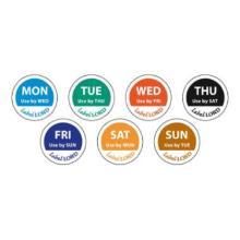 LabelLord Aqualabel Montag u.haltbar bis englisch 1 Rolle = 500 Etiketten Produktbild