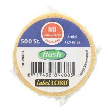 Label Mittwoch -haltbar bis- 1 Rolle = 500 Etiketten wasserauflösend PrimeSource Produktbild