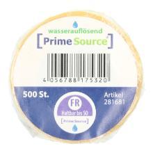 Label Freitag -haltbar bis-1 Rolle =500 Etiketten wasserauflösend PrimeSource Produktbild