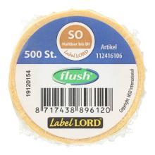 Label Sonntag -haltbar bis- 1 Rolle = 500 Etiketten wasserauflösend PrimeSource Produktbild