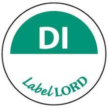 LabelLord Flushlabel Dienstag ohne -haltbar bis- 1 Rolle = 500 Etiketten Produktbild