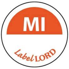 LabelLord Flushlabel Mittwoch ohne -haltbar bis- 1 Rolle = 500 Etiketten Produktbild