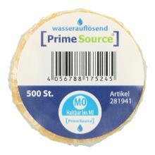 Label Montag -haltbar bis- 1 Rolle = 500 Etiketten wasserauflösend PrimeSource Produktbild