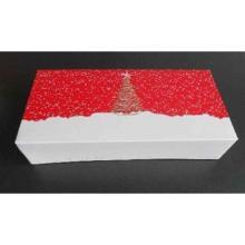 Stollenkarton 260 mm x 120 mm x 75 mm Design 765 Etoile rot/weiß Produktbild