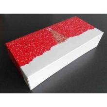 Stollenkarton 340 mm x 160 mm x 80 mm Design 592 Etoile rot/weiß Produktbild